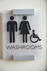 jasa buat acrylic toilet sign di jakarta pusat hubungi aditya 0896