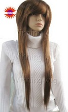 layed silky straight kanekalon synthetic hair wig NYSWIG-535