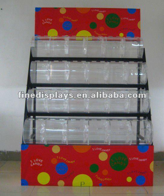 Estantes De Acrilico Para Baño:Acrílico cajas de dulces estante de exhibición ( FD-A-0165 )