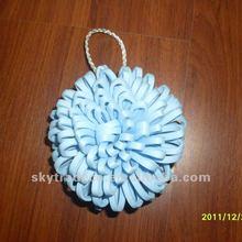 Blue Color EVA Bath Shower Sponge Puff Ball