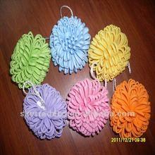 Cute Popular Color EVA Bath Shower Sponge Puff Ball