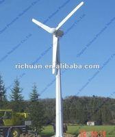 10kw Horizontal Axis permanent magnet wind power system Wind power generator set three phase ac generator
