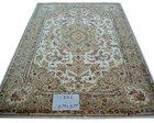 160L wool & silk hand tufted rug