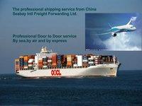 Door to door service from China to Israel