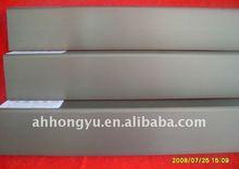 silver anodize aluminium profile