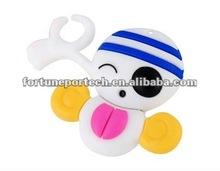 cute cartoon pirate shape promotional gift usb memory
