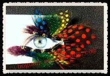 fashion natural feather eyelash extensions glue in korea