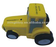 pu yellow stress car toy