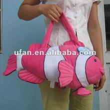 2012 innovative plush animal toy bag