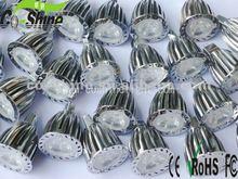 12V LED Lights 6W Bridgelux 690lm MR16 GU10 E27