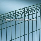 Rolled Top and Bottom Edge Welded Mesh Fence