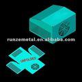 Ventilador de hoja de caja de metal