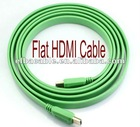 FlatScreen Super Green HDMI Cable