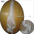 الجملة الجديدة hhv5 2011 طبقة واحدة ارتفع الدانتيل الخرز عينة حقيقية زفاف العروس الحجاب