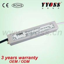 15w waterproof led tube driver 12v, 24v (3 years warranty)