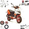 wangye WY125T-21 scooter parts