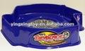 Venda quente cor azul de plástico beyblade arena
