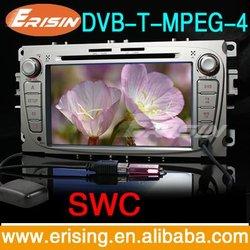 Erisin car media player GPS digital TV 7 Inch Double Din Radio Ipod
