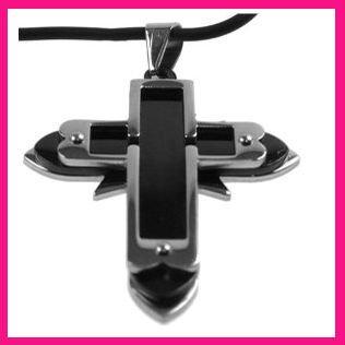 Крест ручной работы из нержавеющей стали
