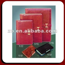 spiral note book leather cover