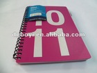 notebook, paper note, spiral notebook