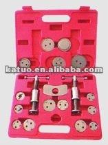 18pcs caliper wind back kit/brake caliper repair tool