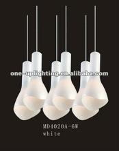 2012 new modern Chandelier lamp MD4020-6W