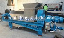 1.5t/h double screw extractor ,vegetable juice extracting machine,fruit juice extractor 0086-37167670501