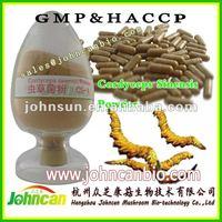 Cordyceps sinensis mycelium powder, polysaccharides>10%,mannitol >10%