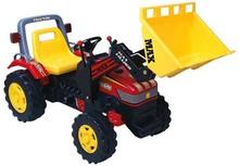 Pedal trator brinquedo resistente das crianças brinquedo trator styled sobre a nova geração da agricultura tratores