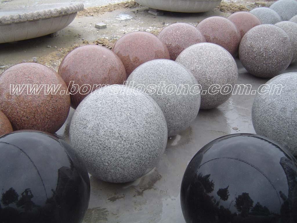 Ornement Boule De Pierre Granite Id Du Produit 522301235