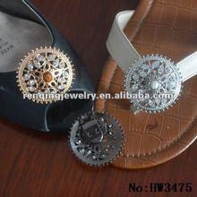 Twinkling Rhinstone Alloy Shoe clips in 2012