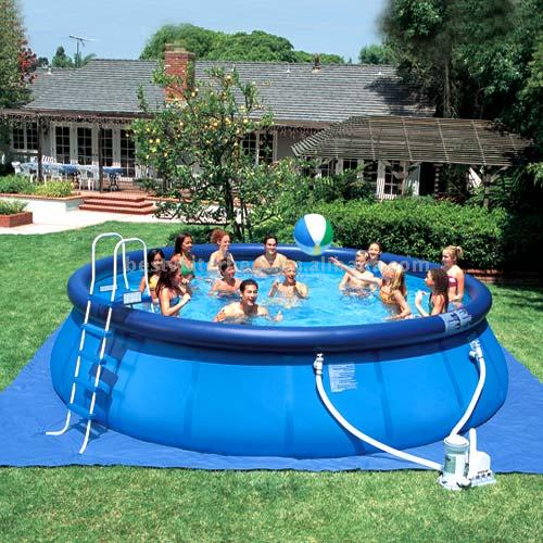 Inflatable Round Quick Up Swimming Pools Blow Up Swimming Pools
