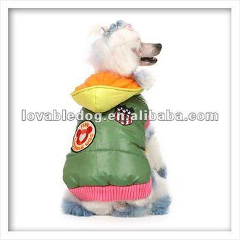 Pet clothes Happy parka pet hoodies dog clothes