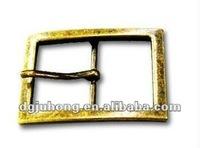 fashion metal center bar belt buckle