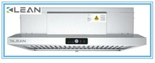 Cooker hood electrostatic air cleaner for restaurants