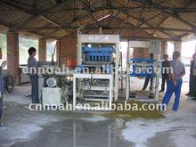 CHINA NOAH QFT4-30 Semi-automatica de bloques de hormigon de cemento del ladrillo CALIDAD buena maquina