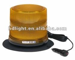 12V 72-LED AMBER STROBE BEACON EMERGENCY WARNING LIGHT