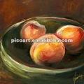 Frutas pinturas sobre tela, ainda pinturas da vida para a decoração