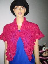100 % Hand Crocheted Shawl For Ladies, 2012 Spring Fashion Design
