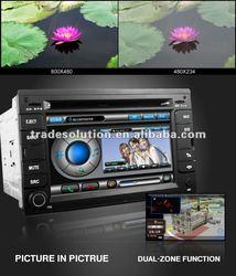 Volkswagen Passat B5 Golf 4 Polo Bora DVD Player with GPS Bluetooth ipod iphone Steering Wheel Control HD Screen 6 CDC