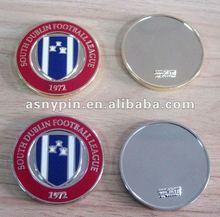 football league gold & silver metal coins