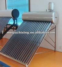 High quality unpressurized solar hot water