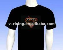 super man design el t-shirt hot selling