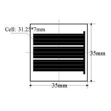 35*35mm Mini Mono Solar Cell