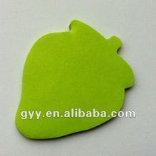 2012 GYY customized shape notepad