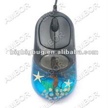 Funny USB gadget optical mouse,beautiful oceanic computer mouse SB1002J11