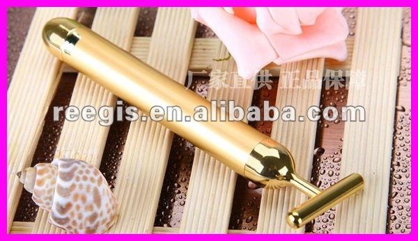 Magic 24K Gold Remove Wrinkle Vibrating Facial Massager