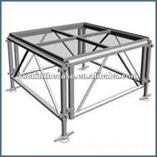 1mx1m Organic Glass Aluminum Stage
