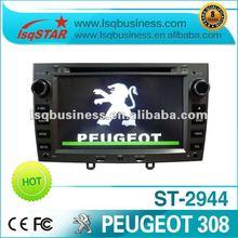 central multimidia Peugeot 308 with gps radio, DVBT ISDBT digital tv optional